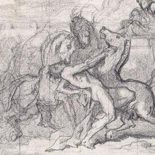 자신의 말들에게 잡아먹힌 디오메데스