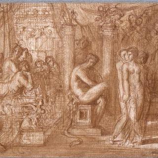 헤라클레스와 테스피오스의 딸들