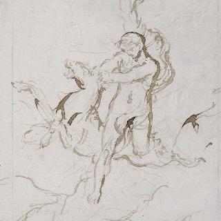 헤라클레스와 견고한 발의 암사슴