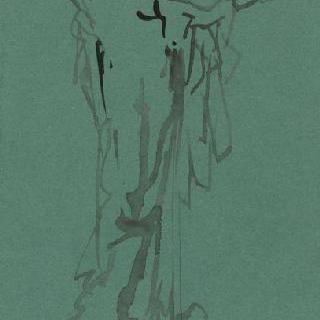 동상 설계 습작 : 세례 요한의 머리를 들고 있는 살로메