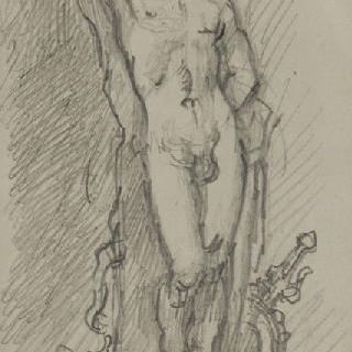 동상 설계 습작 : 성 세바스티아누스