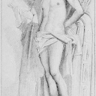 지오바니 벨리니풍의 복제화 (팔라 드 산 지오베, 세부 묘사, 베니스 학술원)