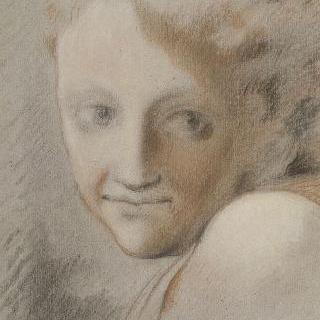 코레주풍의 복제화 (천사의 얼굴)