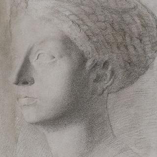 로마인 부인의 흉상 복제화