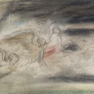 B.페루치풍의 복제화 (헬리오스와 시간의 신, 기둥 전시실, 파르네지나)