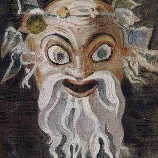 보스코레알의 회화풍의 복제화 (우스꽝스러운 가면, 나폴리의 국립 미술관)