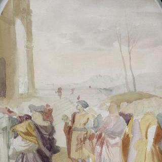 안드레아 델 사르토풍의 복제화 (동방박사들의 여행, 아눈치아타, 피렌체)