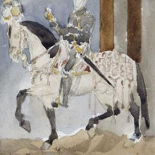 장 클루에풍의 복제화 (프랑수아 1세의 초상)