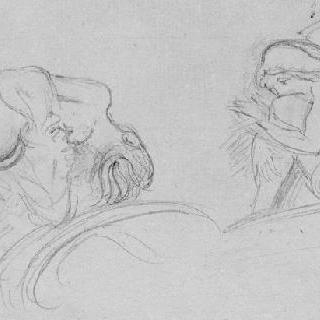죽음의 여신의 승리 대가풍의 복제화 (지옥, 세부 묘사, 피사의 캄포 산토 )