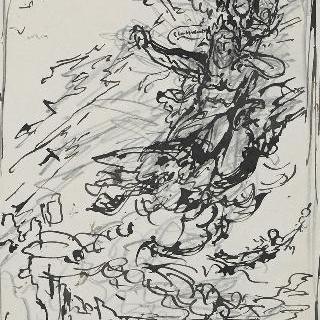 밑그림 50. 제우스와 천둥