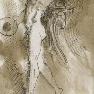 춤추는 젊은 사티로스 복제화