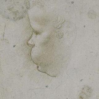 로세르의 성모의 아기 예수 습작 (루브르)