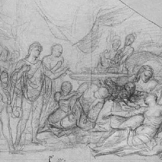 다리우스의 여인의 죽음