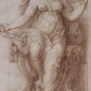 중용의 여신 : 바티칸 콘스탄티누스 1세 침실의 작품 복제화