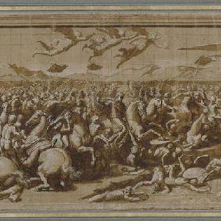 막센티우스와의 콘스탄티누스 1세의 전투