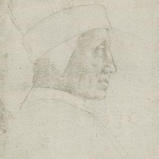 레오나르도 로레단 총독의 측면 초상