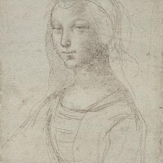 젊은 여인의 흉상 초상