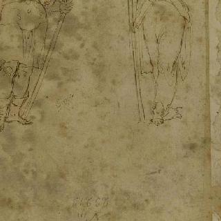 두 개의 여인상 기둥 : 정복의 여신과 향해의 여신