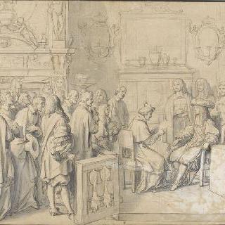 교황대사 치기의 회담