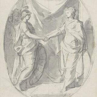 1663년 스위스와의 동맹 연장