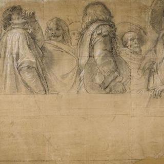 베르사유궁의 대사들 계단의 밑그림 : 유럽의 다른 국가들