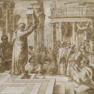 아테네에서 설교하는 성 바오르