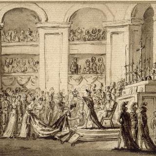 노트르담 성당에서의 조세핀 황녀 대관식 (1804년 12월)