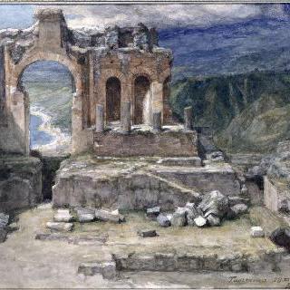타오르미나, 그리스 극장