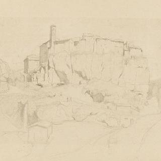 론시글리온, 거대한 암석 위 건물 전체