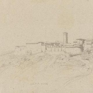 로마의 평야 : 그로타 페라타, 요새