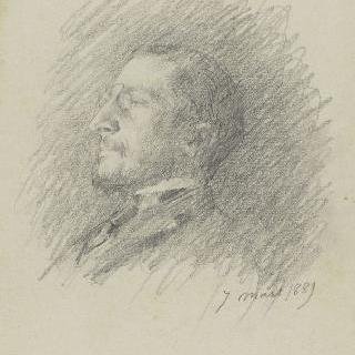 오귀스트 제라르의 초상, 로마의 대사