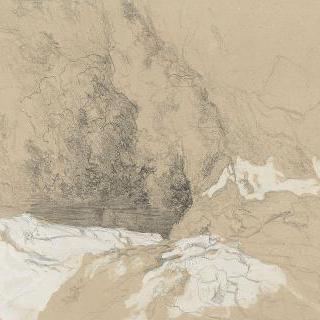 산 : 바위들 사이의 수원