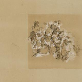 산 : 나란히 놓인 마른 돌로 만든 벽