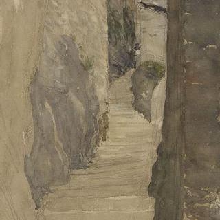 산 : 마을의 계단