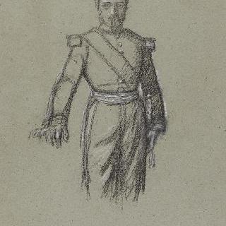 나폴레옹 3세 : 초상의 포즈 습작