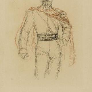 나폴레옹 3세 : 초상의 전체 습작