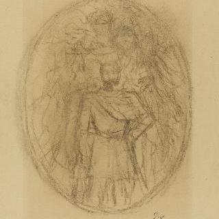 나폴레옹 1세 : 초상의 전체 초벌화