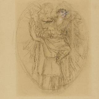 나폴레옹 3세 : 초상의 전체 초벌화