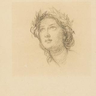 나폴레옹 3세의 초상 : 프랑스의 우의화의 얼굴 습작
