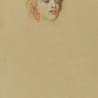 나폴레옹 3세의 초상 : 이탈리아의 우의화의 두상 습작