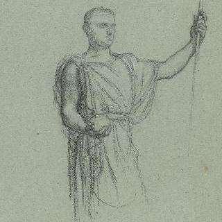 나폴레옹 1세의 신격화 습작 : 포즈 습작