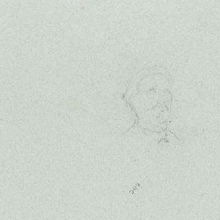 나폴레옹 1세의 신격화 습작 : 초상 크로키