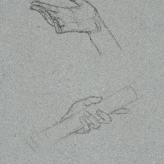 팡테옹의 후진 : 그리스도, 손 습작