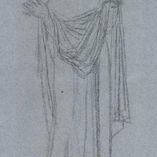 팡테옹의 후진 : 성모, 포즈와 의복