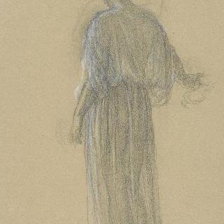 동맹 : 긴 드레스를 입은 여인의 뒷모습
