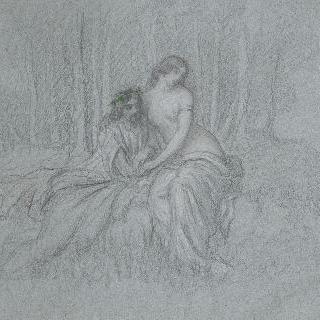 오디세우스와 칼립소 이미지
