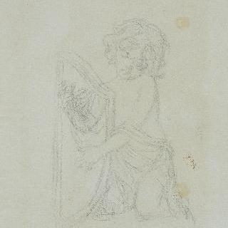 천국의 성모 : 리라를 연주하는 소천사