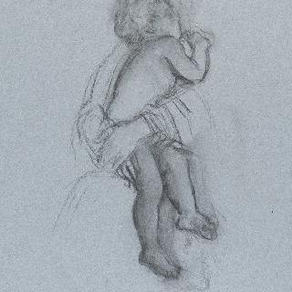 아기 예수의 잠 : 성모 품에서 잠든 아기 예수
