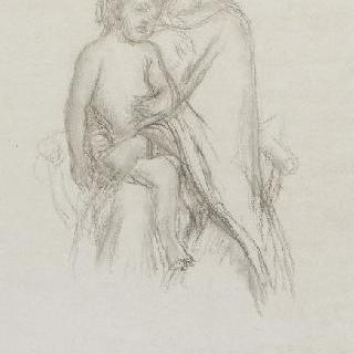 아기 예수의 잠 : 성모와 아기 예수