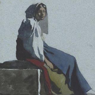 로마 평야의 아낙네
